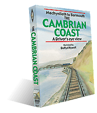 Cambrian coast Drivers eye view DVD - The Vale of Rheidol Railway