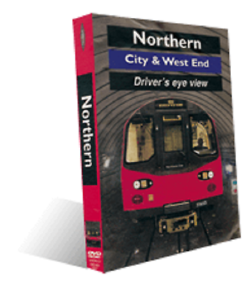 Northern city and west end London Underground, Driver's Eye View DVD