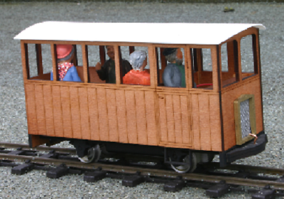 mandie railbus  IP engineering  kit 32mm SM32 garden railway