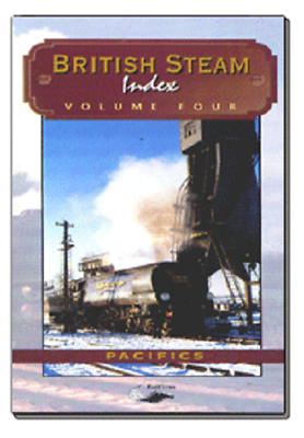 Pacifics British Steam Index vol 4 Telerail BR DVD
