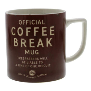 Coffee break mug railway themed gift Harvey Makin - The Vale of Rheidol Railway