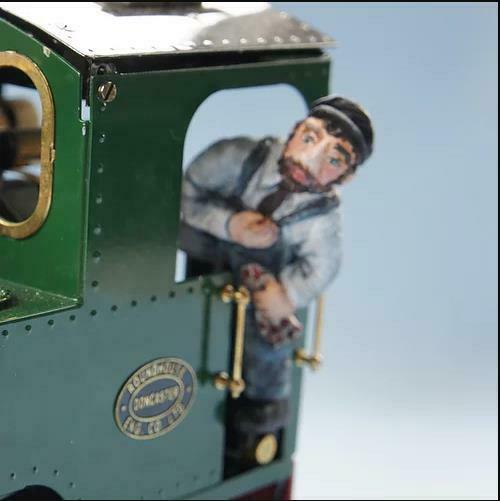 Billy green IP engineering driver unpainted resin garden railway 16mm scale - The Vale of Rheidol Railway