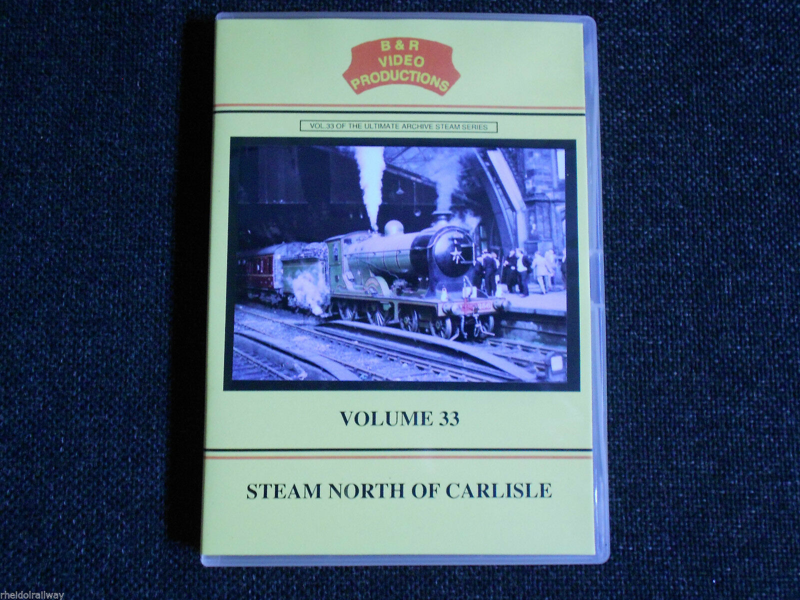 Waverley Route, Beattock, Kingmoor, Steam North of Carlisle, B & R Volume 33 DVD