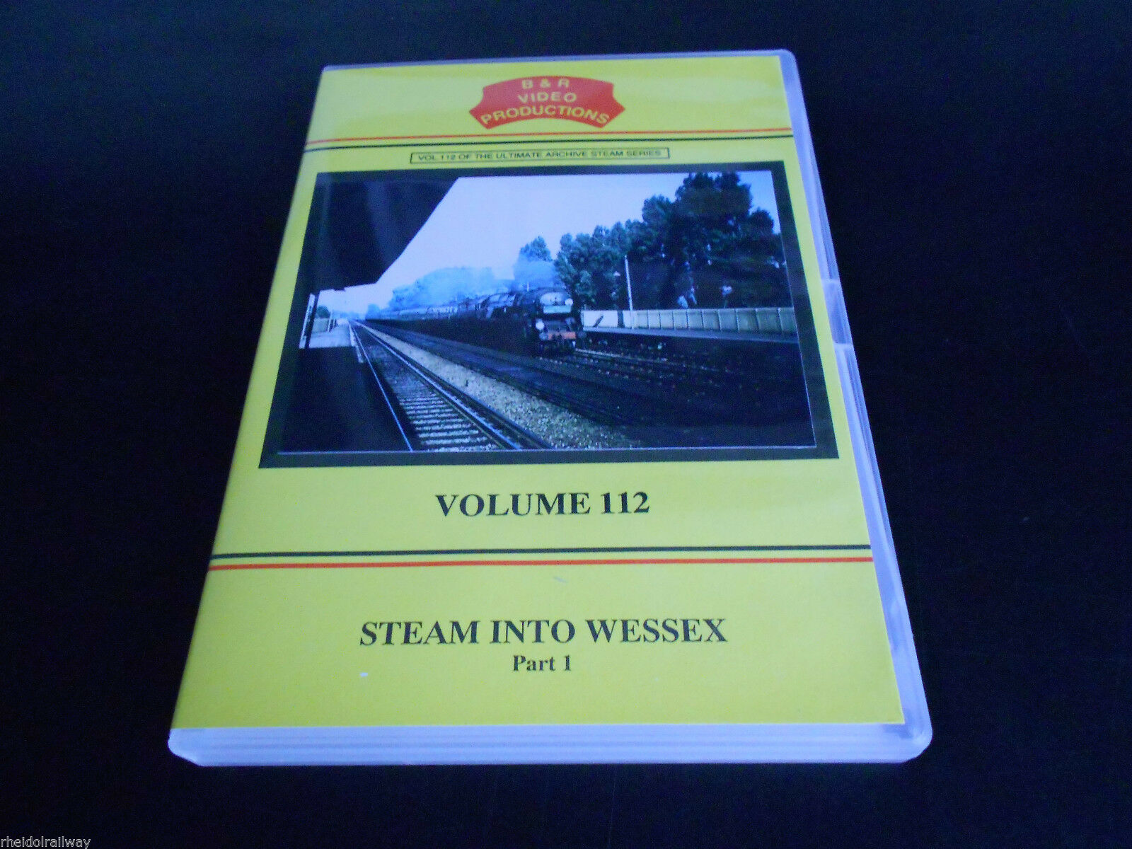 Guildford, Eastleigh, Longmoor, Steam Into Wessex Part 1 B&R Vol 112 DVD