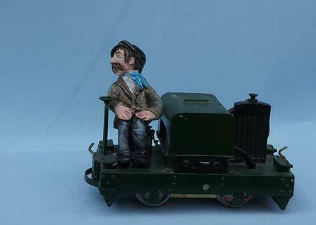 Mr Starboard IP engineering driver unpainted resin garden railway 16mm scale - The Vale of Rheidol Railway