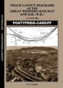Pontypridd to cardiff railway track plans GWR BR (W) Radyr Roath - The Vale of Rheidol Railway