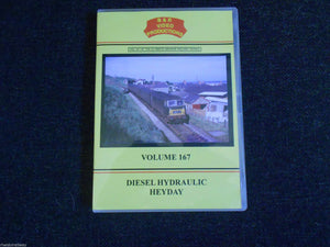 Dawlish Sea Wall, Paddington, Diesel Hydraulic Heyday, B & R Volume 167 DVD - The Vale of Rheidol Railway