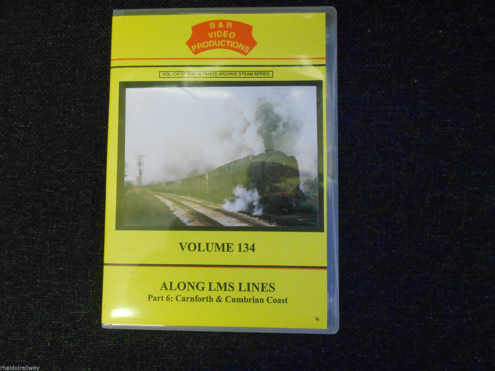 Tebay, Shap, Along LMS Lines Pt 6, Carnforth & Cumbrian Coast B&R Vol 134 DVD