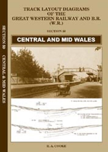 Central and Mid Wales Track layout diagrams GWR BR no.59 - The Vale of Rheidol Railway