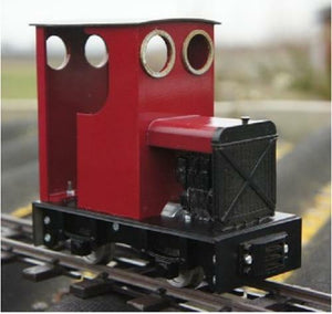 Huddy  Pete Ip engineering diesel loco kit battery 32mm SM32 garden railway - The Vale of Rheidol Railway