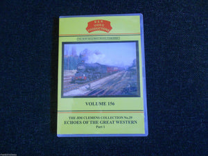 Paddington, Penzance, Echoes of the Great Western Part 1, B & R Volume 156 DVD