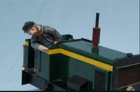 Mr Moth IP engineering driver unpainted resin garden railway 16mm scale - The Vale of Rheidol Railway