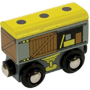 wooden train,Bigjigs,Goods wagon,fits Brio