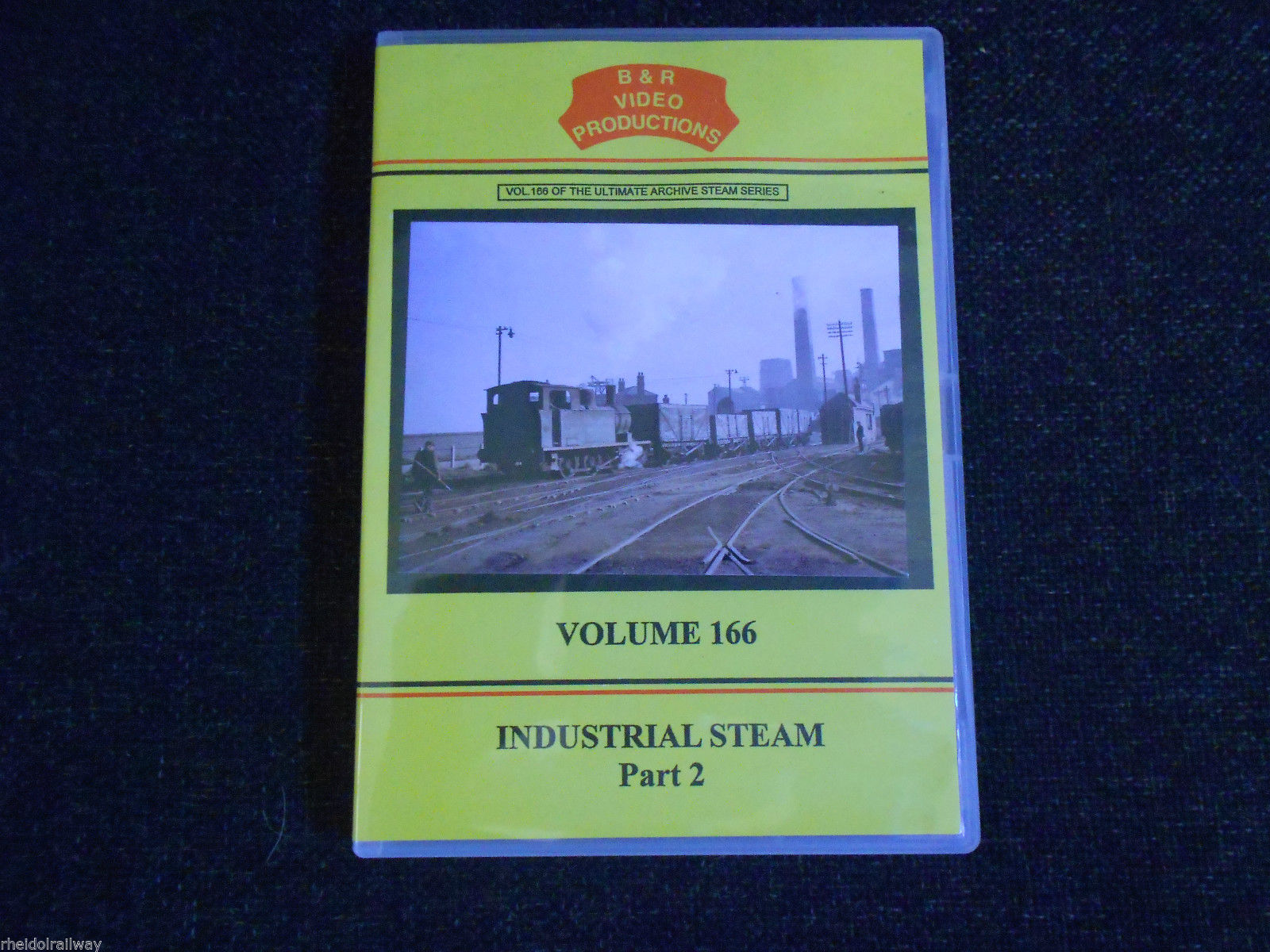 North East, Midlands, Industrial Steam Part 2, B&R VOLUME 166 DVD