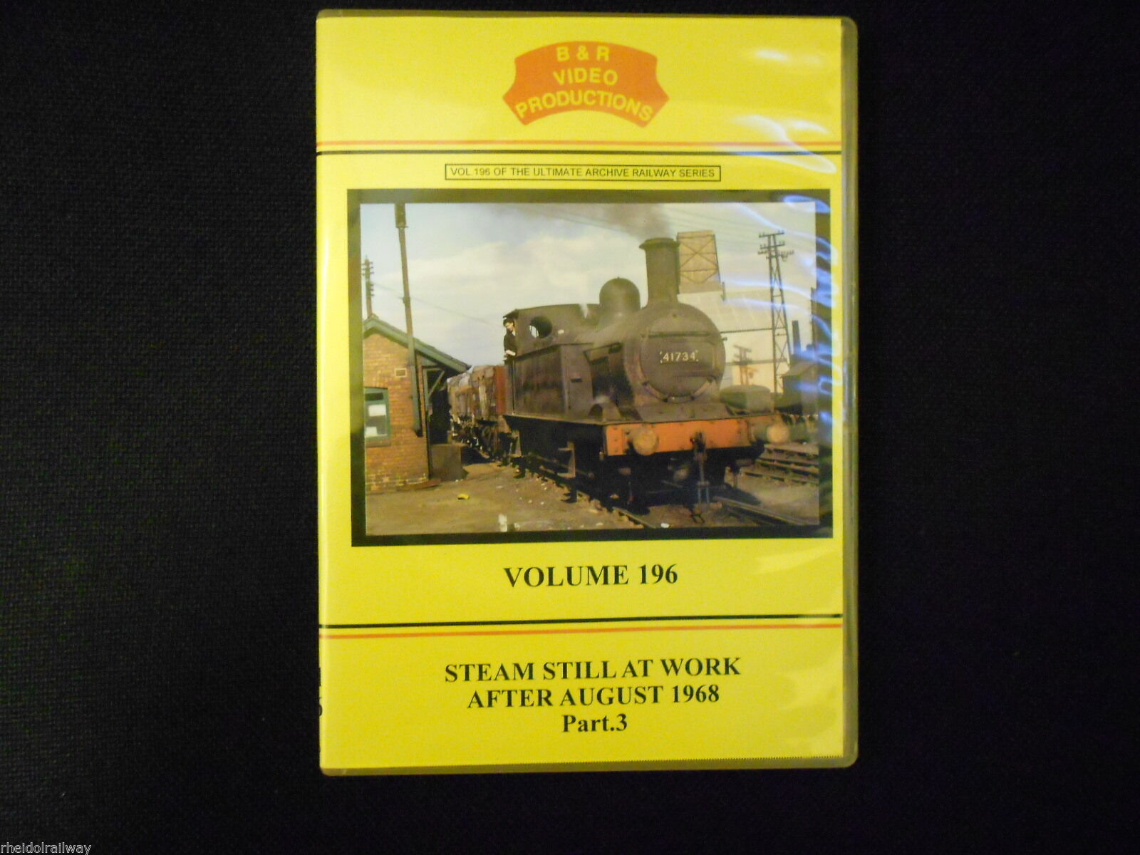 Longmoor, Didcot, Steam Still At Work After August 1968 Part 3 B&R Vol 196 DVD