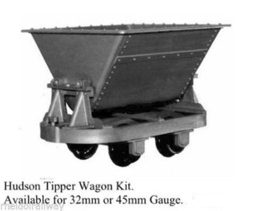 Hudson tipper wagon Binnie engineering 45mm gauge  garden railway 16mm LGB