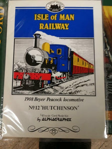 Alphagraphix Isle of Man hutchinson engine 7mm O gauge 1:43 card kit E21 - The Vale of Rheidol Railway