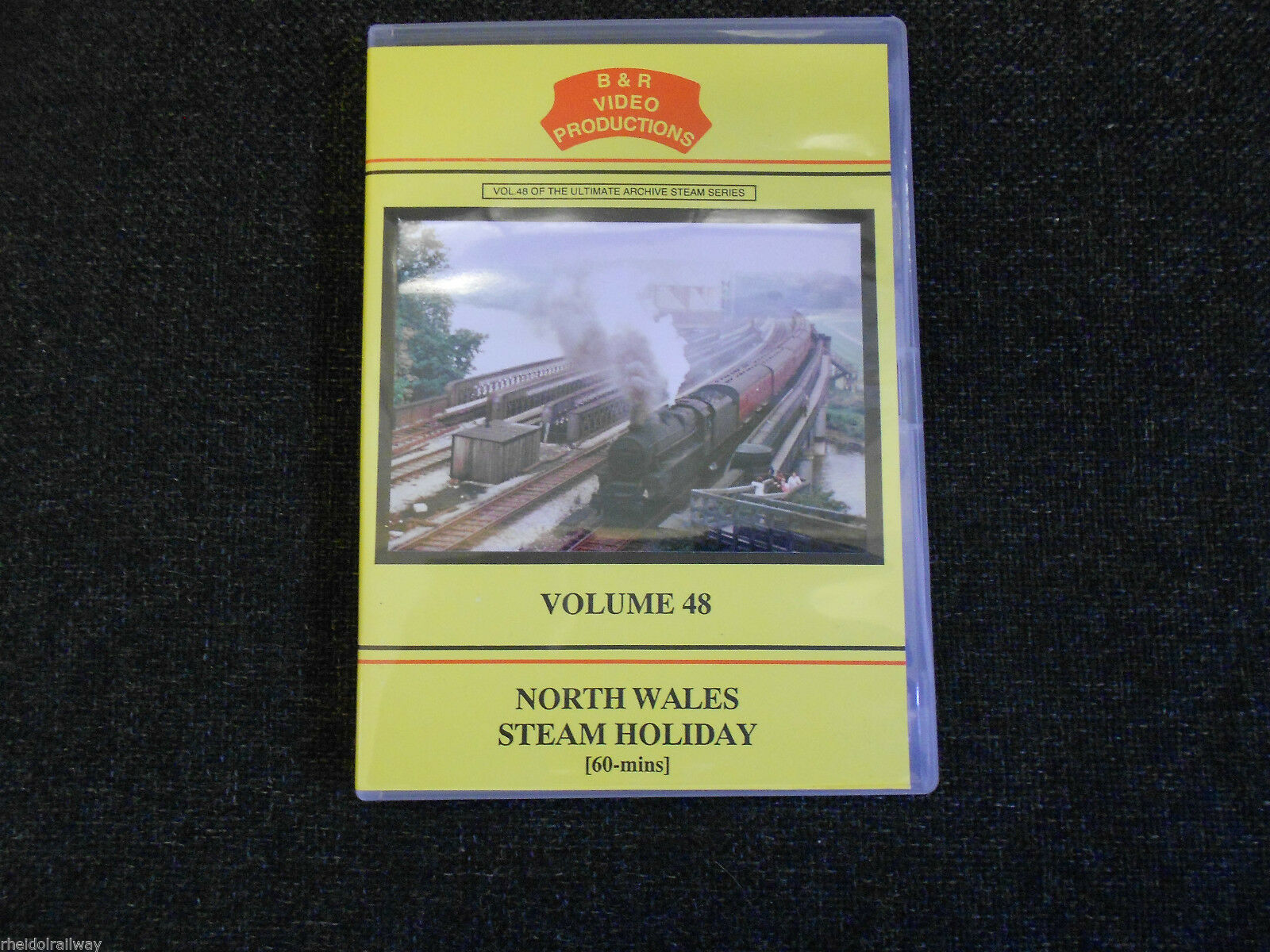 Rugby, Crewe, Chester, Holyhead, North Wales Steam Holiday B&R Vol 48 DVD