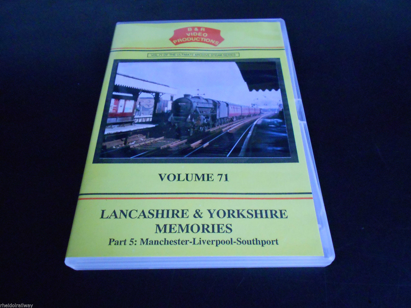 Manchester-Liverpool-Southport Part 5 Lancashire & Yorkshire Memories Vol.71 DVD - The Vale of Rheidol Railway