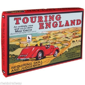 Touring England, Board Game family 1930s retro race game - The Vale of Rheidol Railway