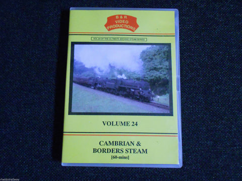 Chester, Llangollen, Cambrian & Borders Steam, B & R Volume 24 DVD - The Vale of Rheidol Railway