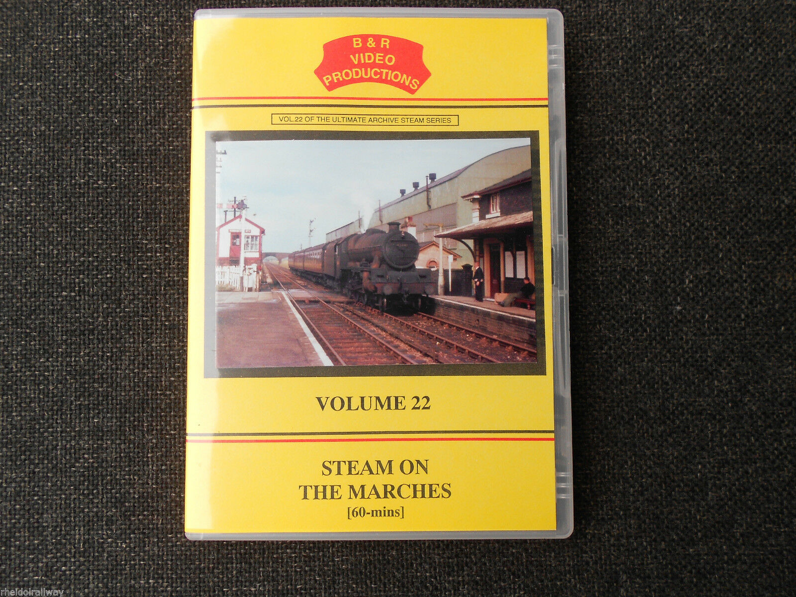 Shropshire, Bishops Castle, Clee Hill, Steam on the Marches Vol.22 DVD B&R - The Vale of Rheidol Railway