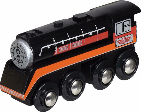 American hiawatha locomotive unboxed small foot legler wooden train fits Brio - The Vale of Rheidol Railway