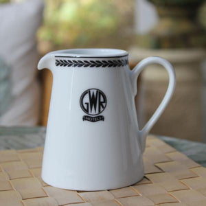 GWR replica milk jug from Recreations by Centenary Lounge  porcelain - The Vale of Rheidol Railway