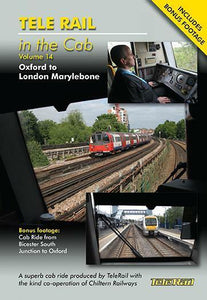 Oxford to London Marylebone telerail in the cab 14 DVD