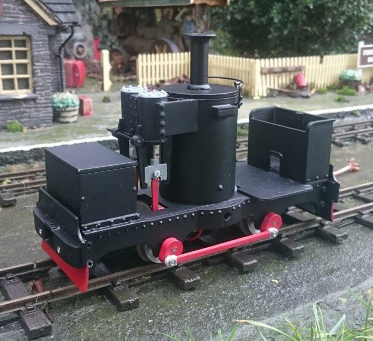 De Winton 0-4-0 Vertical Boiler 32mm gauge kit pdf models 16mm scale Garden - The Vale of Rheidol Railway