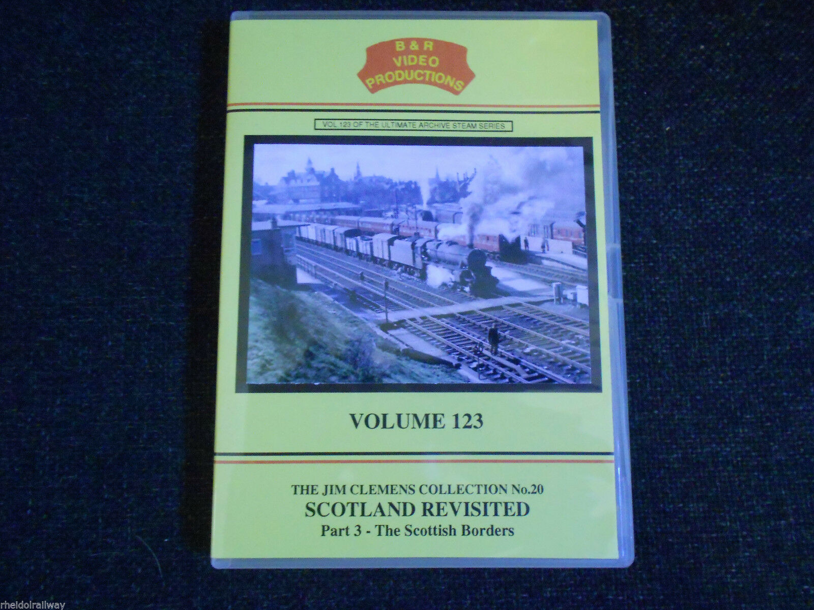 Tweedmouth, Scotland Revisited Part 3, The Scottish Borders B&R Vol 123 DVD - The Vale of Rheidol Railway
