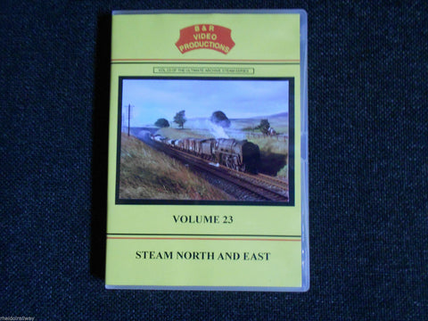 London,Manchester, Steam North And East, B & R Volume 23 DVD