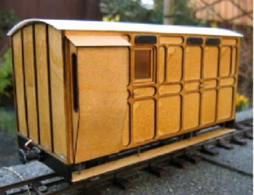 Luggage guards coach kit Ip engineering freelance 32mm 45mm garden railway