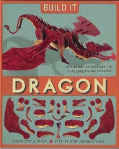 Build it - a red dragon. card kit/book - The Vale of Rheidol Railway