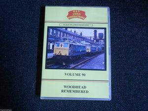 Sheffield, Manchester, Pennines, Holland, Woodhouse Remembered B&R Vol 90 DVD