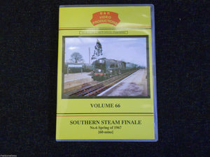 Wolverhampton, Whitchurch, Oswestry, Southern Steam Finale No. 6, B&R Vol 66 DVD