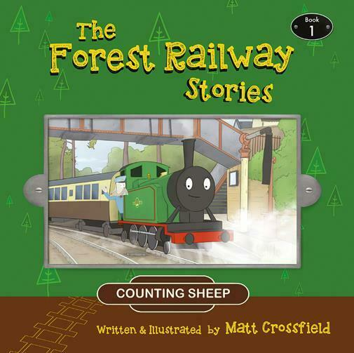 Counting sheep - The Forest Railway Stories : Book 1 Matt Crossfield - The Vale of Rheidol Railway