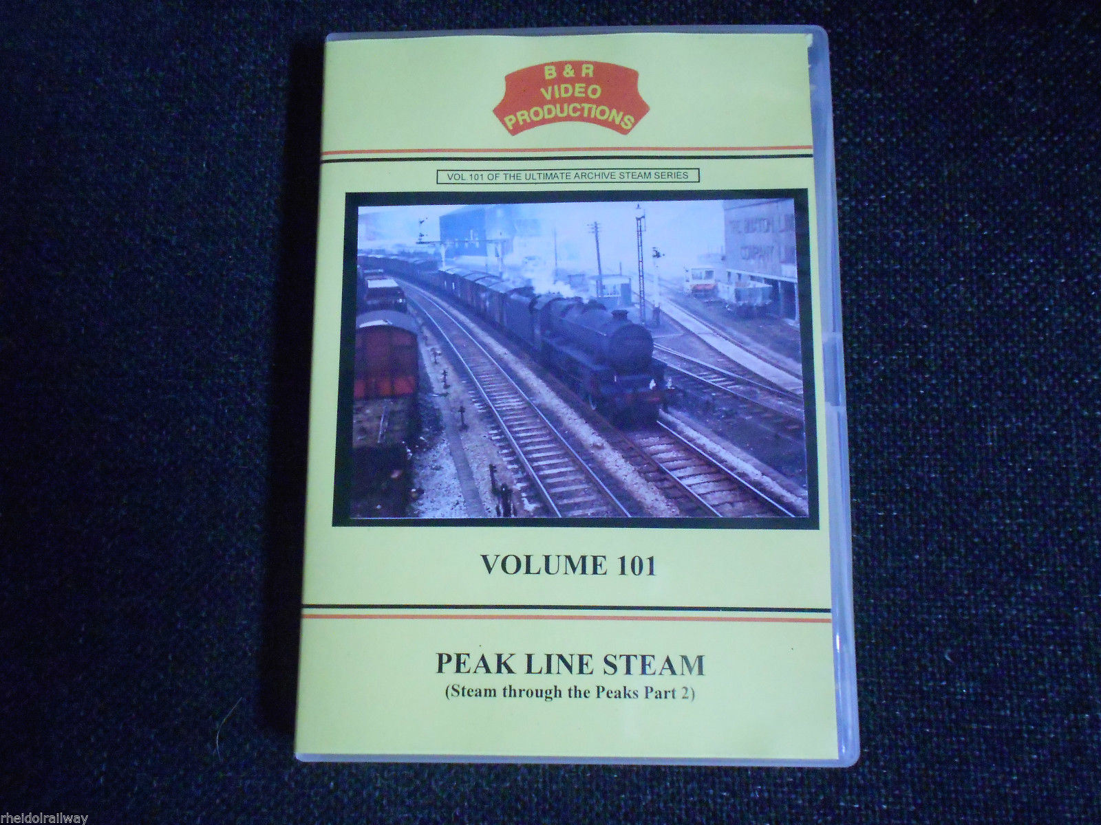 Buxton, Hopton, Peak Line Steam Part 2, Steam Through The Peaks B&R Vol 101 DVD - The Vale of Rheidol Railway