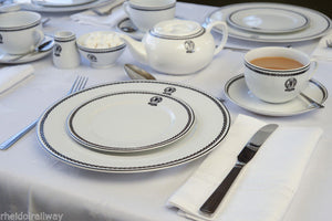 GWR replica Dinner plate Recreations by Centenary lounge  porcelain - The Vale of Rheidol Railway
