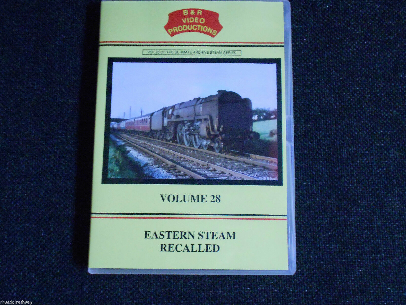 Liverpool Street, Epping, Ongar, Eastern Steam Recalled, B & R Volume 28 DVD
