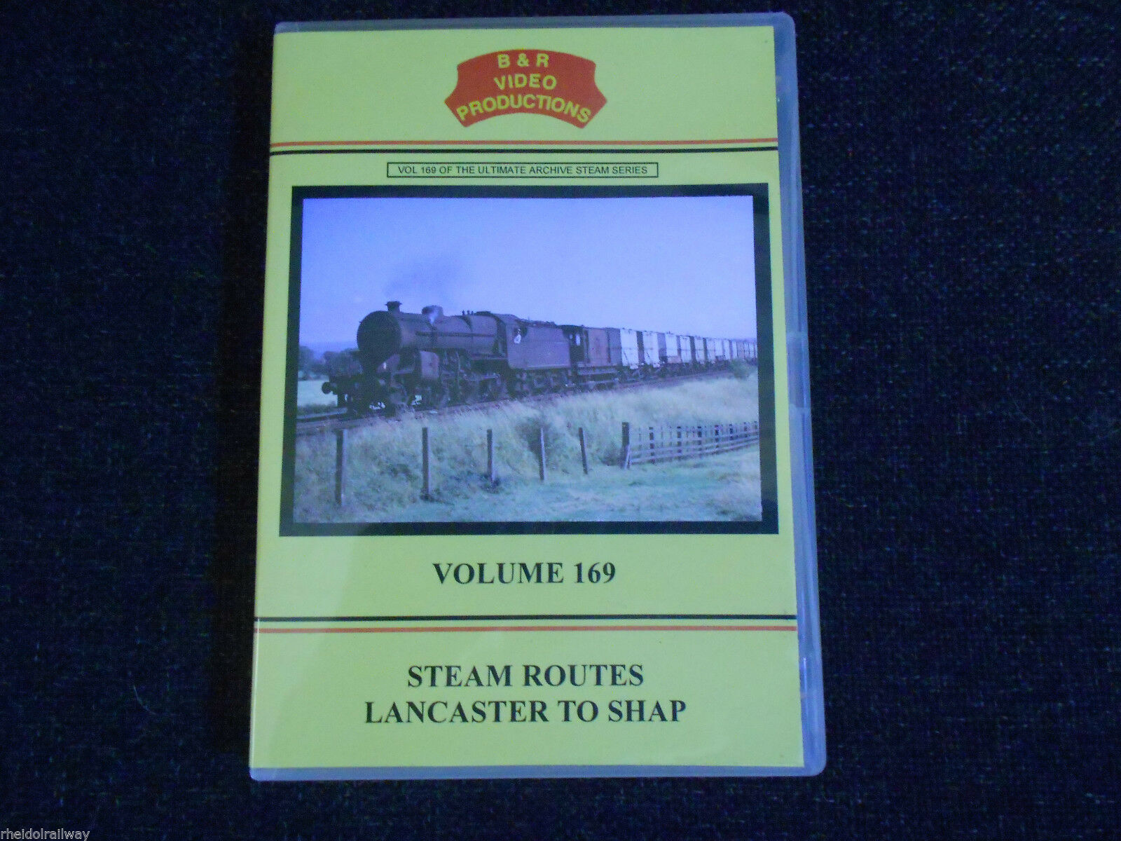 Heysham Line, Hest Bank, Steam Routes Lancaster to Shap, B & R Volume 169 DVD