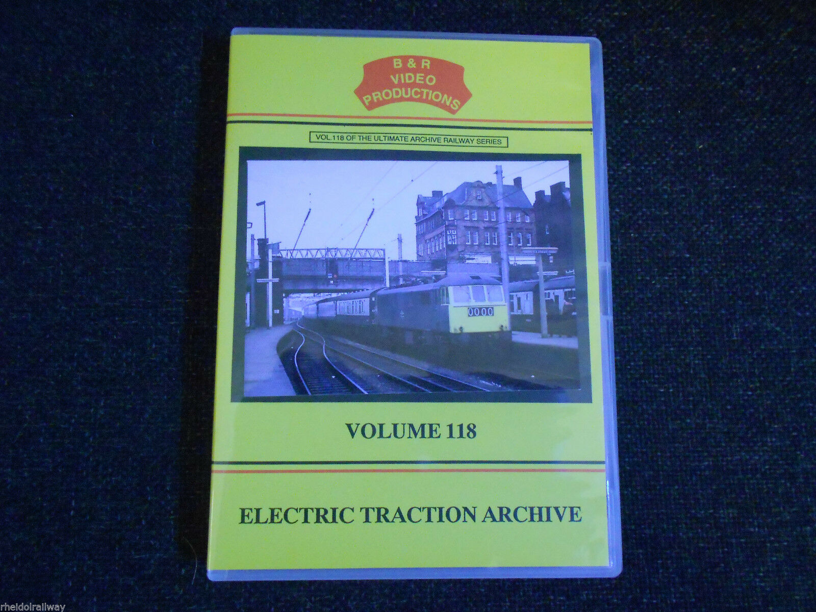 Volks Railway, Woodhead Route, Electric Traction Archive, B&R Vol 118 DVD