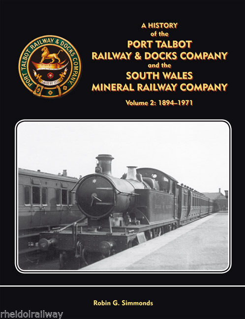 Port Talbot Railway & Docks Company South Wales Mineral.railway History of vol 2 - The Vale of Rheidol Railway
