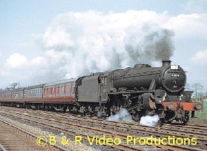 B&R DVD 210 London Midland Steam Miscellany No.4 Shap Crewe Tebay Stoke - The Vale of Rheidol Railway