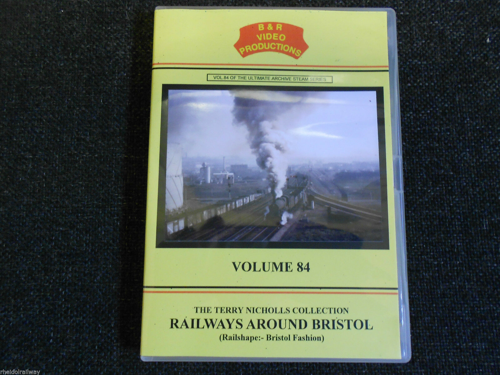 Barrow Road, Pilning, Clifton Bridge, Railways Around Bristol B&R Vol 84 DVD - The Vale of Rheidol Railway