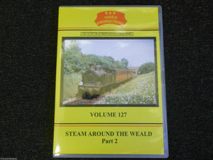 Oxted, Brighton, Guildford, Redhill, Steam Around The Weald Pt 2 B&R Vol 127 DVD