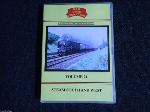 USA Tanks, Hayling Island Branch, Steam South And West, B & R Volume 21 DVD - The Vale of Rheidol Railway