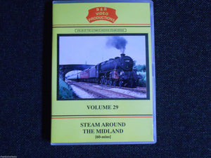 Luton Midland, Bute Street, Steam Around Midland, B & R Volume 29 DVD - The Vale of Rheidol Railway