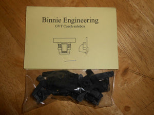 GVT iron coach axle boxes plastic Binnie kit 'II' set of 8