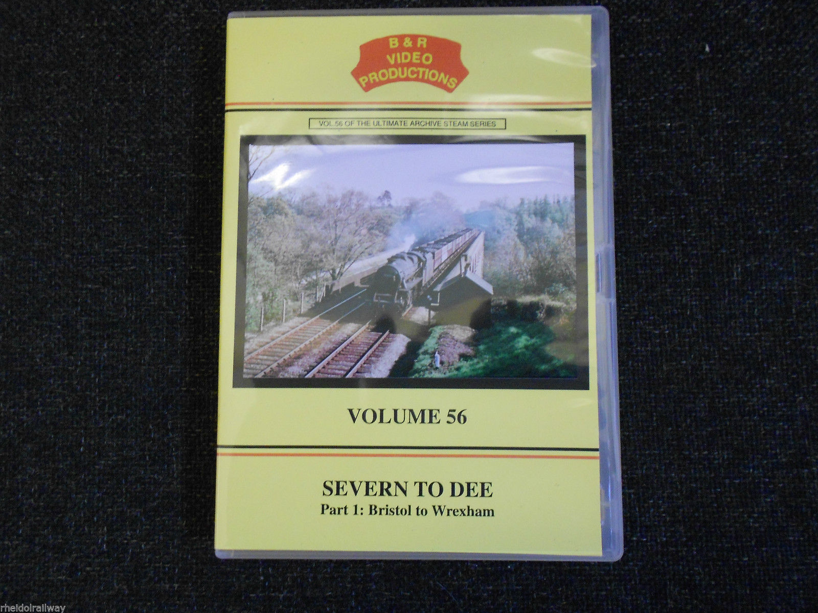 Bristol, Wrexham, Shrewsbury, Crewe, Severn To Dee Part 1 B&R Vol 56 DVD - The Vale of Rheidol Railway